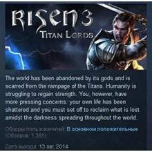 Risen 3 - Titan Lords STEAM KEY RU+CIS LICENSE 💎