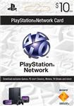 PLAYSTATION NETWORK - $10