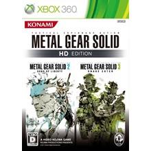 Metal Gear Solid 2 & 3, Peace Walker XBOX 360