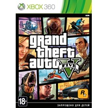 Grand Theft Auto V- GTA 5 Xbox 360