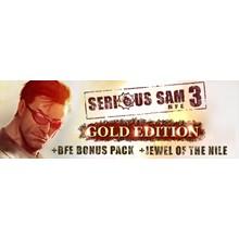 Serious Sam 3 BFE Gold (STEAM KEY / REGION FREE)