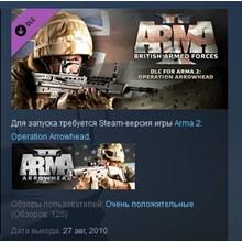 Arma 2: British Armed Forces 💎STEAM KEY REGION FREE