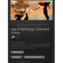 age of mythology extended ( steam gift ru + cis )