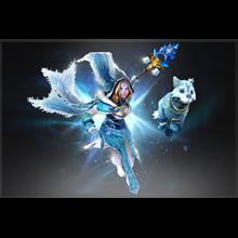 Dota 2Frost Avalanche (Аркана) [Crystal Maiden]