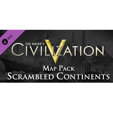 Sid Meier´s Civilization 5: Scrambled Continents Map