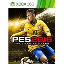 Pro Evolution Soccer 2016  PES16 Xbox 360 (rus)