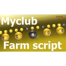 Script for farming gp myclub Pro evolution soccer 2016