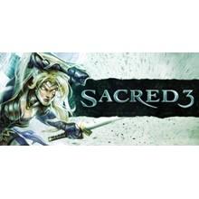 Sacred 3 + 3 DLC (STEAM KEY / RU/CIS)