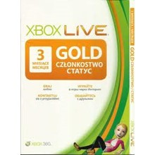 Xbox Live Gold - 3 Month