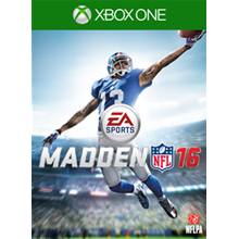 Madden NFL 16 xbox ONE Region USA !!!