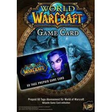 WORLD OF WARCRAFT TIME CARD 60 DAYS EURO + RU