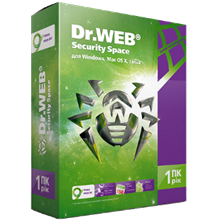 Dr.Web Security Space 1 Year 1PC 1Mob +150 day REG FREE