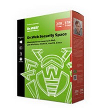 Dr.Web Security Space 2 years 1 PC + 1 mob REG FREE
