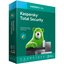 Kaspersky Total Security 2 devices 1 year RENEWAL RUS