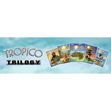 Tropico Trilogy (1 + 2 + 3 + DLC) STEAM KEY / RU/CIS