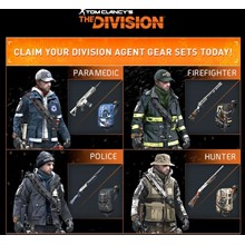 Equipment set Tom Clancy´s The Division PS4 KEY PSN USA