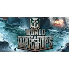 World of Warships (RU US EU NA) - Leveling experience