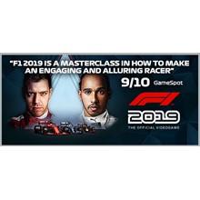 F1 2019 Anniversary Edition (Steam KEY, Region Free)