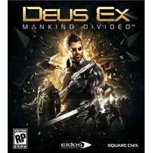 DEUS EX: MANKIND DIVIDED (STEAM) + DLC (RU) + GIFT