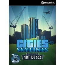Cities: Skylines DLC Content Creator Pack: Art Deco