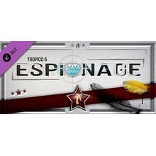 Tropico 5 - Espionage (DLC) STEAM GIFT / RU/CIS