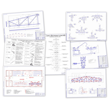 Diploma. Assembly and welding of the roof truss