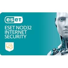 ESET NOD32 INTERNET SECURITY - Renewal 3 PC 1 Year