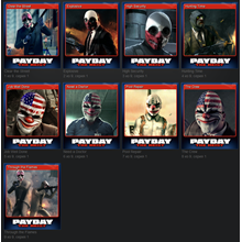 Set PAYDAY: The Heist Trading Cards