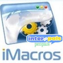 macros iMacros for interpals.net.