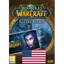 WORLD OF WARCRAFT 60 DAYS TIME CARD [US] + WoW CLASSIC