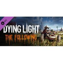 Dying Light: The Following (DLC) STEAM KEY / RU/CIS