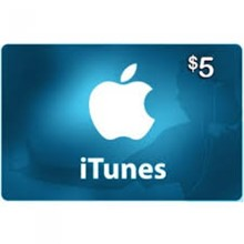 Itunes $5 USA Gift Card - Apple Store
