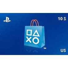 PlayStation Network Gift Card 10 USD US-region