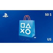 PlayStation Network Gift Card 50 USD US-region