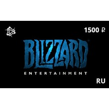Blizzard Gift Card 1500 rub. RU-region