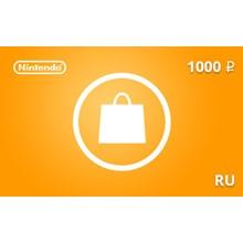Nintendo eShop Gift Card 1000 RUB RU-region