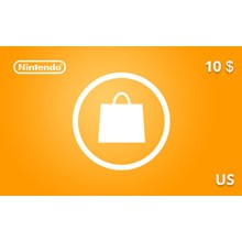 Nintendo eShop Gift Card 10 USD US-region