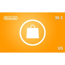 Nintendo eShop Gift Card 35 USD US-region