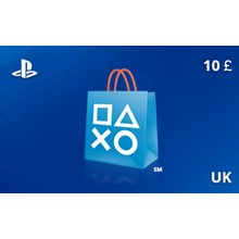 PlayStation Network Gift Card 10 GBP UK-region