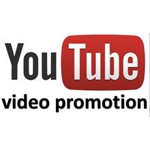 Youtube promotion: views, likes, dislikes, subscription