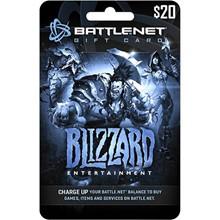 Blizzard app Battle net wallet funds code voucher card