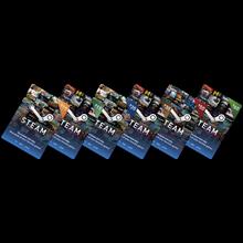 Steam Wallet top-up Funds Voucher Code Deposit Card