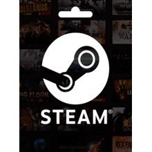 Steam Wallet Global $6.45 (no Argentina)