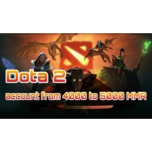 DOTA 2 | from 4000 to 5000 ranking