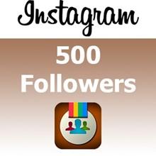 Instagram followers 500 + free 1000 photo likes. buy