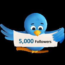 Twitter Followers 5000 Cheap Free. Buy Twitter Follower