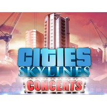 Cities: Skylines: DLC Concerts (Steam KEY) + GIFT
