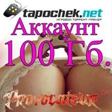 ACCOUNT TAPOCHEK.NET (TAPOCHEK.NET) 100 GB