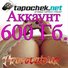 ACCOUNT TAPOCHEK.NET (TAPOCHEK.NET) 600 GB