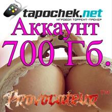 ACCOUNT TAPOCHEK.NET (TAPOCHEK.NET) 700 GB